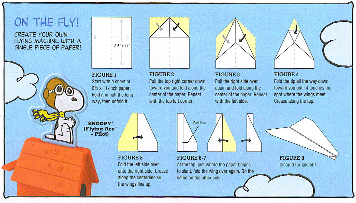 How to make 5 different paper airplanes