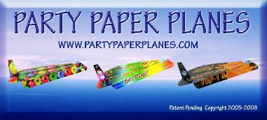 Click here to go to Party Paper Planes!